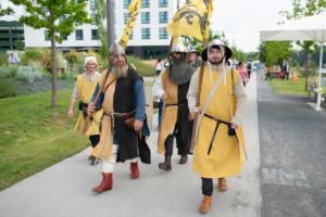 Marsch übers BuGa Gelände