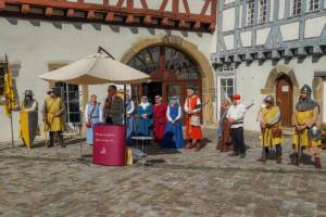 Verleihung Cittaslow-Urkunde durch Manfred Dörr
